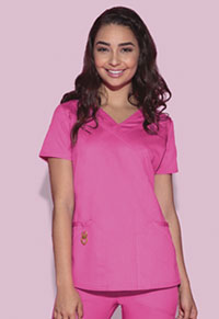 HeartSoul Wrapped Up V-Neck Top Pink Party (20971A-PNKH)