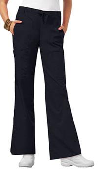 Low Rise Flare Leg Drawstring Cargo Pant (21100P-PEWV)