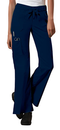 WW Core Stretch Low Rise Drawstring Cargo Pant (24001-NAVW) (24001-NAVW)