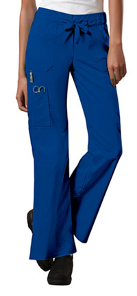 Cherokee Workwear Low Rise Drawstring Cargo Pant Royal (24001-ROYW)