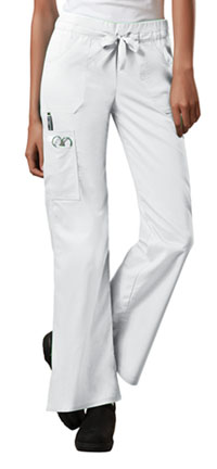 WW Core Stretch Low Rise Drawstring Cargo Pant (24001-WHTW) (24001-WHTW)