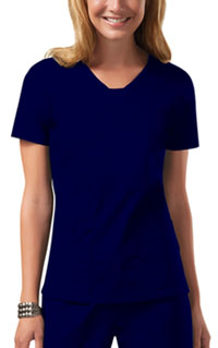 Cherokee Workwear V-Neck Top Navy (24703-NAVW)