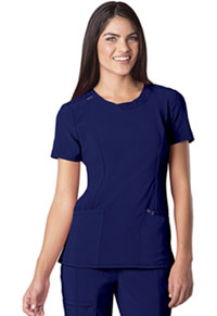 Cherokee Round Neck Top Galaxy Blue (2624A-GAB)