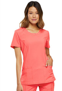 Cherokee Round Neck Top Orange Sugar (2624A-ORSR)