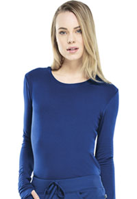 Cherokee Long Sleeve Underscrub Knit Tee Galaxy Blue (2626A-GAB)