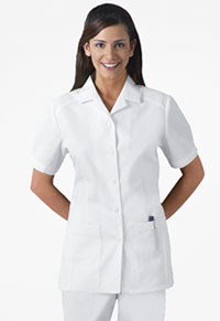 Professional Whites Button Front Top (2880-WHT) (2880-WHT)