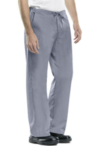 Cherokee Workwear Unisex Natural-rise Drawstring Pant Grey (34100A-GRYW)