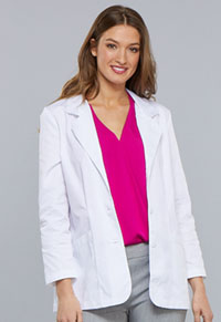 Cherokee 30 Lab Coat White (348-WHT)