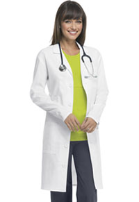 Code Happy 38 Unisex Lab Coat White (36400A-WHCH)