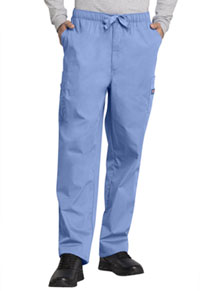Cherokee Workwear Men's Fly Front Cargo Pant Ciel (4000-CIEW)