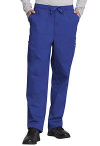 Cherokee Workwear Men's Fly Front Cargo Pant Galaxy Blue (4000-GABW)