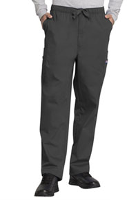 Cherokee Workwear Men's Fly Front Cargo Pant Pewter (4000-PWTW)