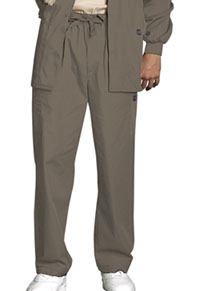 Cherokee Workwear Men's Drawstring Cargo Pant Taupe (4000-TAUW)