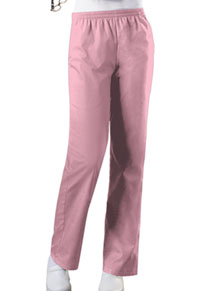 Cherokee Workwear Natural Rise Tapered Leg Pull-On Pant Pink Blush (4001P-PKBW)