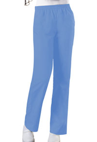 Cherokee Workwear Natural Rise Tapered Leg Pull-On Pant Ciel (4001-CIEW)