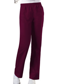 Cherokee Workwear Natural Rise Tapered Leg Pull-On Pant Wine (4001-WINW)