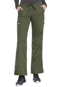 Low Rise Drawstring Cargo Pant (4020T-OLVW)