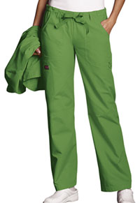Cherokee Workwear Low Rise Drawstring Cargo Pant Aloe (4020-ALOW)