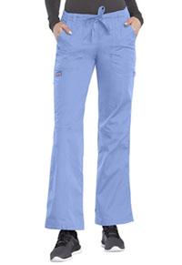 Cherokee Workwear Low Rise Drawstring Cargo Pant Ciel (4020-CIEW)