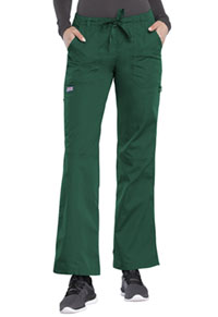 Cherokee Workwear Low Rise Drawstring Cargo Pant Hunter (4020-HUNW)