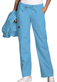 Cherokee Workwear Low Rise Drawstring Cargo Pant Mali-Blu (4020-MABW)
