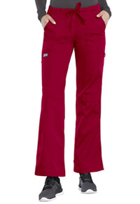 91fc2692b54 Cherokee Workwear Low Rise Drawstring Cargo Pant Red (4020-REDW)