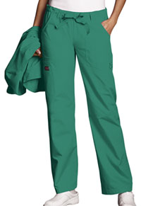 Cherokee Workwear Low Rise Drawstring Cargo Pant Surgical Green (4020-SGRW)