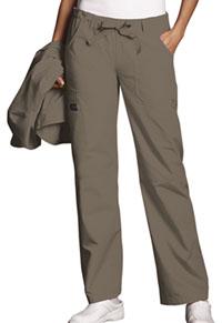 Cherokee Workwear Low Rise Drawstring Cargo Pant Taupe (4020-TAUW)
