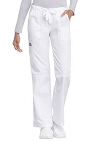 WW Originals Low Rise Drawstring Cargo Pant (4020-WHTW) (4020-WHTW)