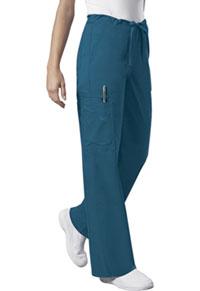 Cherokee Workwear Unisex Drawstring Cargo Pant Caribbean Blue (4043-CARW)