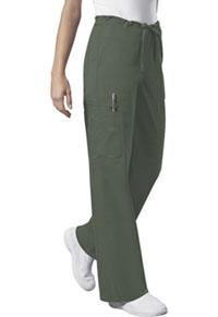 Cherokee Workwear Unisex Drawstring Cargo Pant Olive (4043-OLVW)