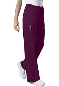 Cherokee Workwear Unisex Drawstring Cargo Pant Wine (4043-WINW)