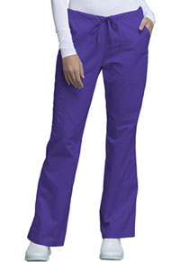 Mid Rise Drawstring Cargo Pant (4044P-GRPW)