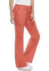 Cherokee Workwear Mid Rise Drawstring Cargo Pant Sunburst (4044-SUNW)