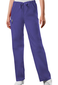 Cherokee Workwear Unisex Drawstring Cargo Pant Grape (4100S-GRPW)