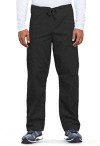 Cherokee Workwear Unisex Drawstring Cargo Pant Black (4100-BLKW)
