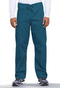 Cherokee Workwear Unisex Drawstring Cargo Pant Caribbean Blue (4100-CARW)