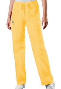 Cherokee Workwear Unisex Drawstring Cargo Pant Dandelion (4100-DANW)
