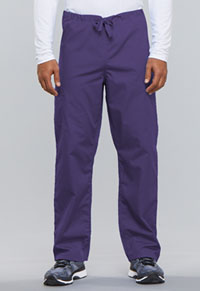 Cherokee Workwear Unisex Drawstring Cargo Pant Grape (4100-GRPW)