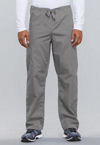 Cherokee Workwear Unisex Drawstring Cargo Pant Grey (4100-GRYW)