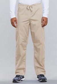 Cherokee Workwear Unisex Drawstring Cargo Pant Khaki (4100-KAKW)