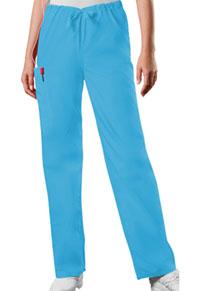 Cherokee Workwear Unisex Drawstring Cargo Pant Mali-Blu (4100-MABW)