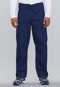 Cherokee Workwear Unisex Drawstring Cargo Pant Navy (4100-NAVW)