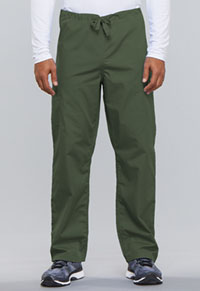 Cherokee Workwear Unisex Drawstring Cargo Pant Olive (4100-OLVW)