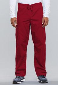 Cherokee Workwear Unisex Drawstring Cargo Pant Red (4100-REDW)