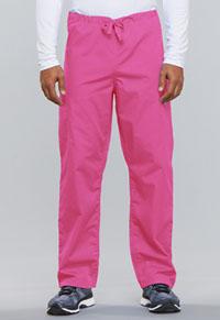 Cherokee Workwear Unisex Drawstring Cargo Pant Shocking Pink (4100-SHPW)