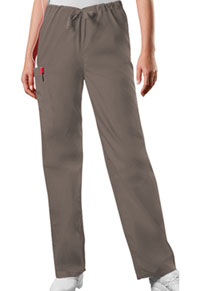 3a53872f2d5 Cherokee Workwear Unisex Drawstring Cargo Pant Taupe 4100-TAUW