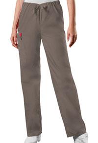 Cherokee Workwear Unisex Drawstring Cargo Pant Taupe (4100-TAUW)