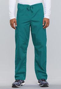 Cherokee Workwear Unisex Drawstring Cargo Pant Teal Blue (4100-TLBW)