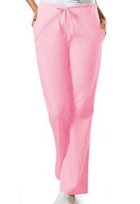 Cherokee Workwear Natural Rise Flare Leg Drawstring Pant Pink Blush (4101P-PKBW)